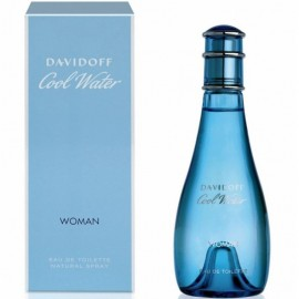 DAVIDOFF COOL WATER WOMAN EDT vap 100 ml