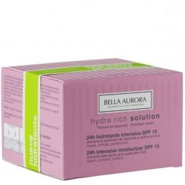 BELLA AURORA HIDRATANTE INTENSIVA 24 H SPF 15 50 ml