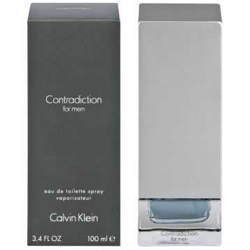 CALVIN KLEIN CONTRADICTION MEN EDT vap 100 ml