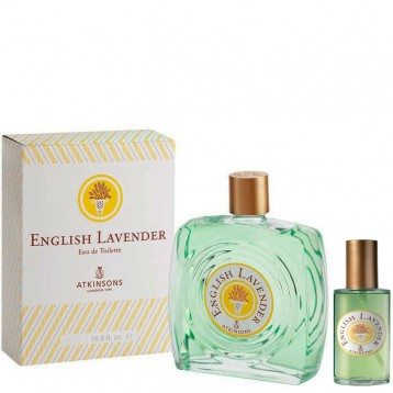 ATKINSONS ENGLISH LAVENDER EDT 150 ml + vap 30 ml