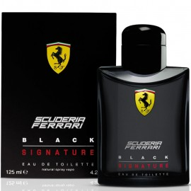 FERRARI SCUDERIA FERRARI BLACK SIGNATURE EDT vap 125 ml