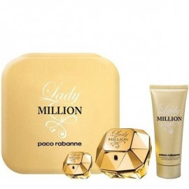 PACO RABANNE LADY MILLION EDP vap 80 ml LOTE 3 pz