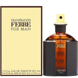 GIANFRANCO FERRE FOR MAN EDT vap 125 ml
