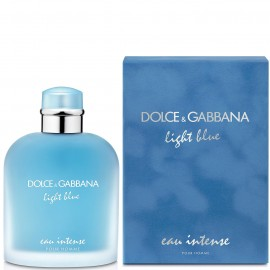 DOLCE & GABBANA LIGHT BLUE EAU INTENSE HOMME EDP vap 100 ml