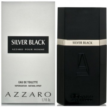 AZZARO SILVER BLACK EDT vap 100 ml