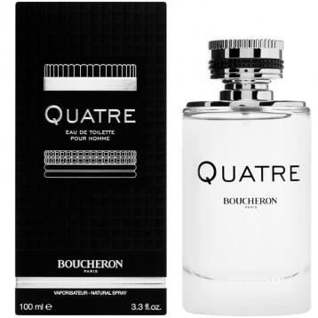 BOUCHERON QUATRE HOMME EDT vap 100 ml