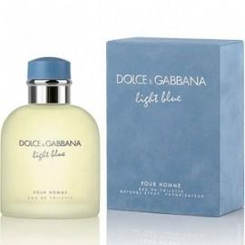 DOLCE & GABBANA LIGHT BLUE HOMME EDT vap 125 ml (SIN CAJA)