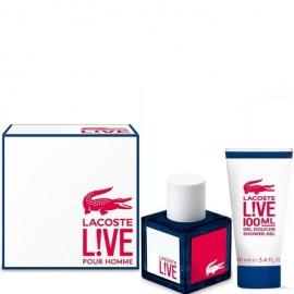 LACOSTE LIVE POUR HOMME EDT vap 100 ml LOTE 2 pz