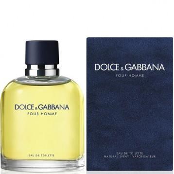 DOLCE & GABBANA POUR HOMME EDT vap 75 ml