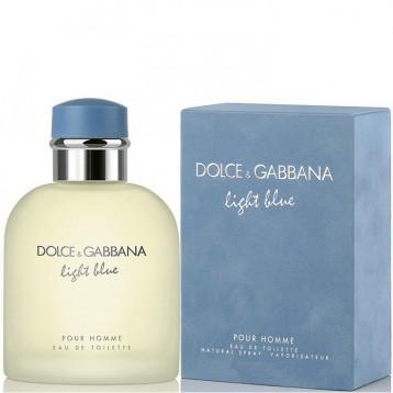DOLCE & GABBANA LIGHT BLUE HOMME EDT vap 200 ml