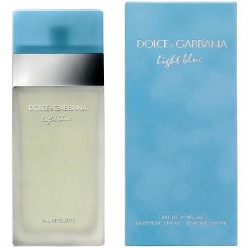 DOLCE & GABBANA LIGHT BLUE EDT vap 25 ml