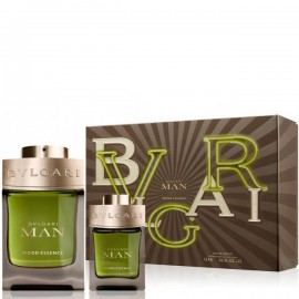 BVLGARI MAN WOOD ESSENCE EDP vap 100 ml LOTE 2 pz
