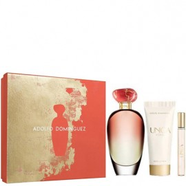 ADOLFO DOMINGUEZ UNICA CORAL EDT vap 100 ml LOTE 3 pz