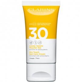 CLARINS CREME SOLAIRE TOUCHER SEC VISAGE SPF30 50 ml