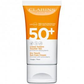 CLARINS CREME SOLAIRE TOUCHER SEC VISAGE SPF50 50 ml