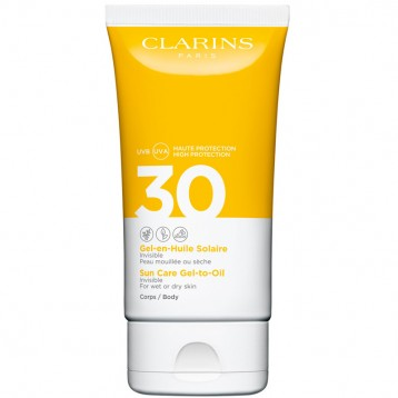 CLARINS GEL EN HUILE SOLAIRE CORPS SPF30 150 ml