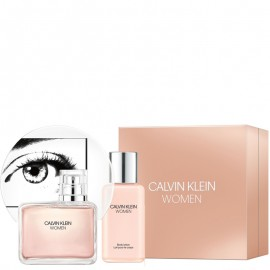 CALVIN KLEIN WOMAN EDP vap 100 ml LOTE 2 pz