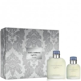 DOLCE & GABBANA LIGHT BLUE HOMME EDT vap 125 ml LOTE 2 pz