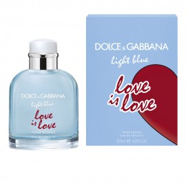 DOLCE & GABBANA LIGHT BLUE LOVE IS LOVE POUR HOMME EDT 125 ml