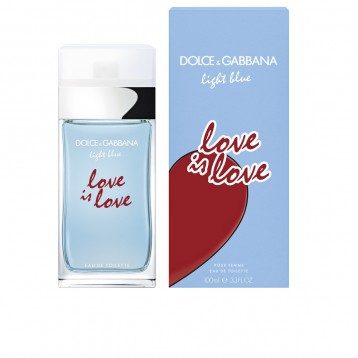 DOLCE & GABBANA LIGHT BLUE LOVE IS LOVE POUR HOMME EDT 125 ml