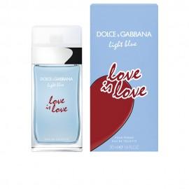 DOLCE & GABBANA LIGHT BLUE LOVE IS LOVE POUR FEMME EDT 50 ml