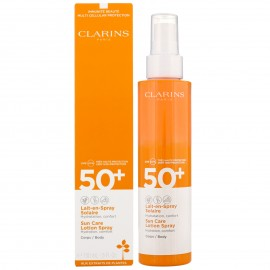 CLARINS LAIT EN SPRAY SOLAIRE CORPS SPF50 150 ml