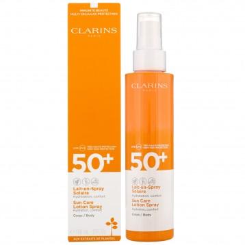 CLARINS LAIT EN SPRAY SOLAIRE CORPS SPF50 150 ml