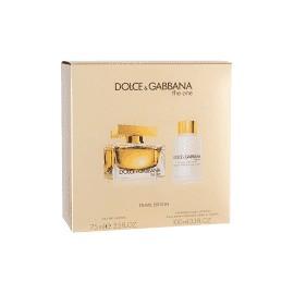 DOLCE & GABBANA THE ONE EDP vap 75 ml LOTE 2 pz