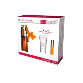CLARINS DOUBLE SERUM 50 ML LOTE 3 pz (2 cremas extra firming)