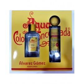 ALVAREZ GÓMEZ AGUA DE COLONIA CONCENTRADA EDC vap 150 ml LOTE 2 PZ